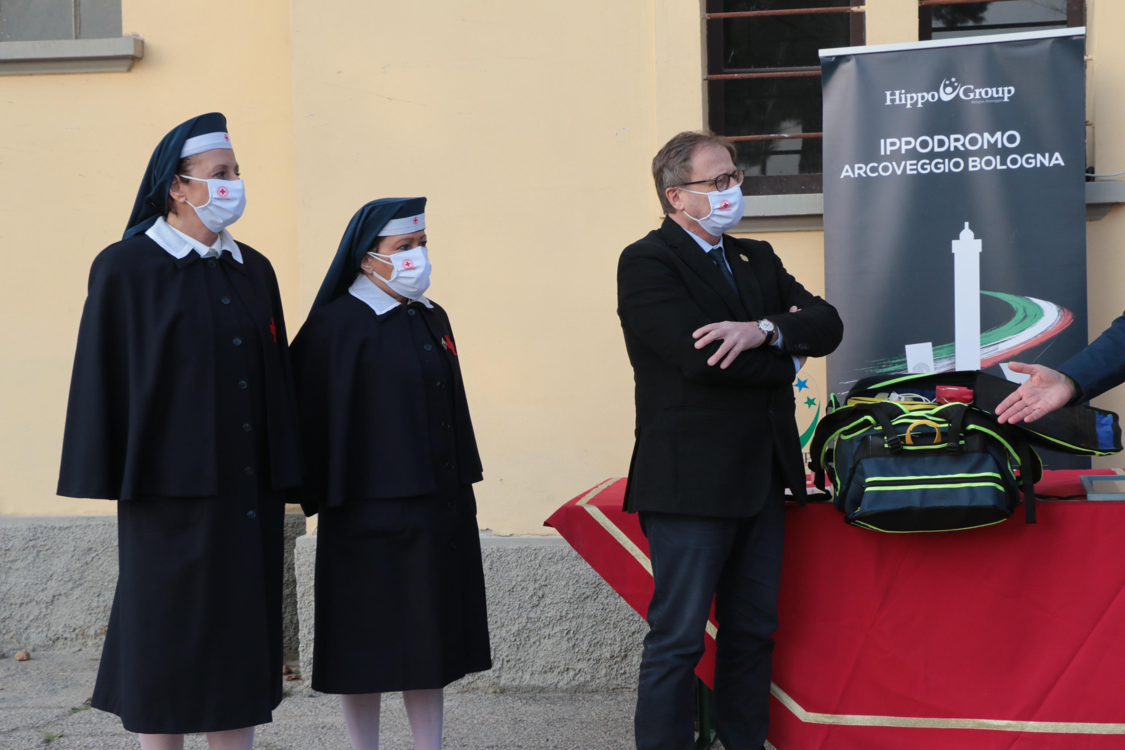 Donazione zaino di primo soccorso Croce Rossa Italiana - Comitato di Bologna