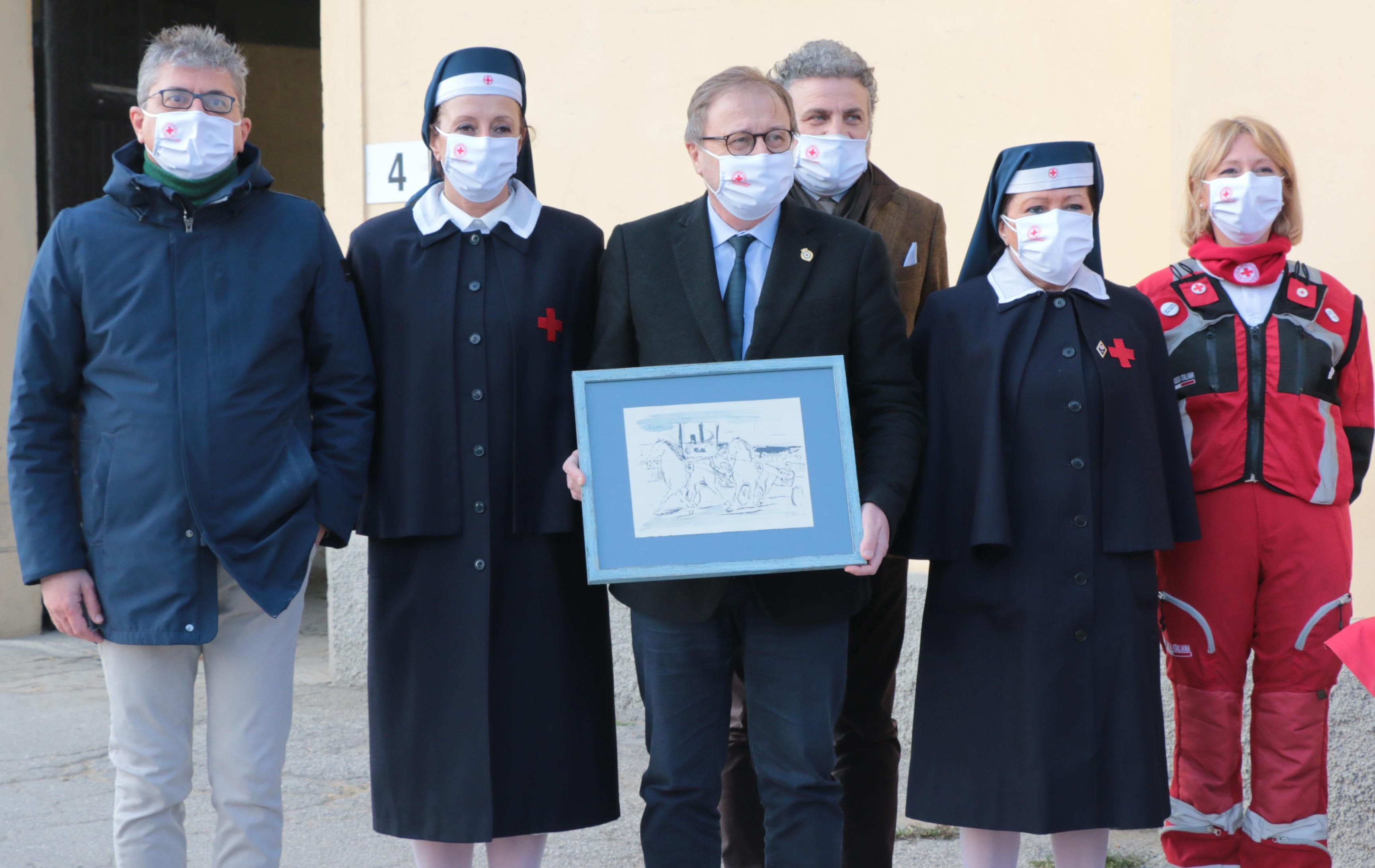 Donazione Croce Rossa Italiana - Comitato di Bologna